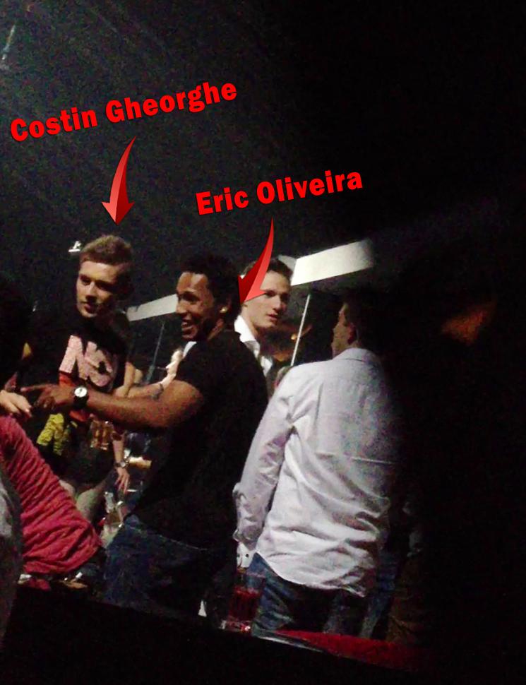 Fratele Elenei Ghoerghe a iesit la club alaturi de cumnatul lui si cativa colegi