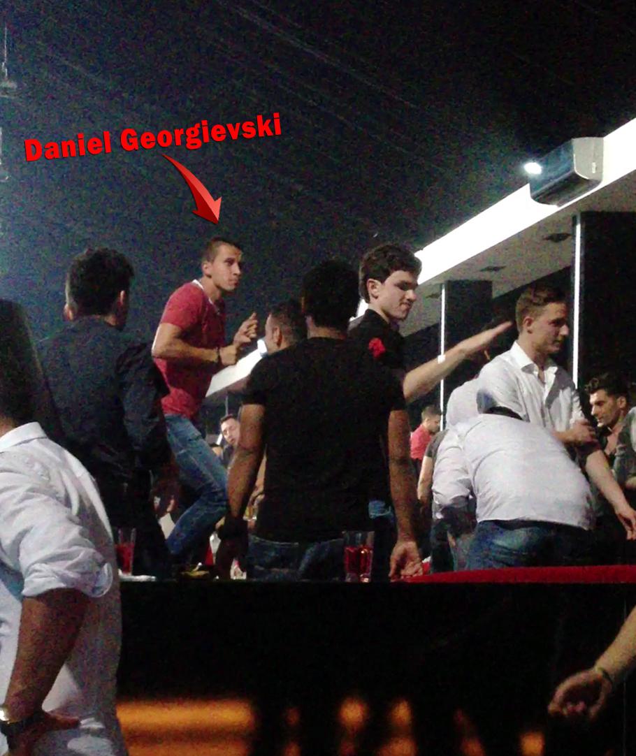 Pus pe distractie, Georgievski a dansat pe masa