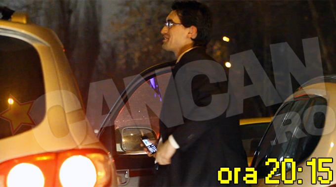 Burleanu a ajuns la Arena Nationala, unde a asistat la partida amicala Romania-Argentina