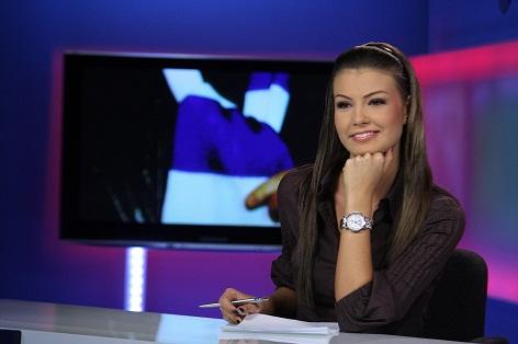 Raluca Hogyes este una dintre cele mai frumoase prezentatoare TV din Romania
