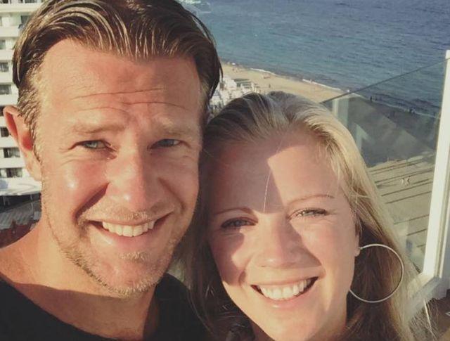 Alje Schut  şi soţia au petrecut o vacanţă de vis. într-o locaţie exclusivistă