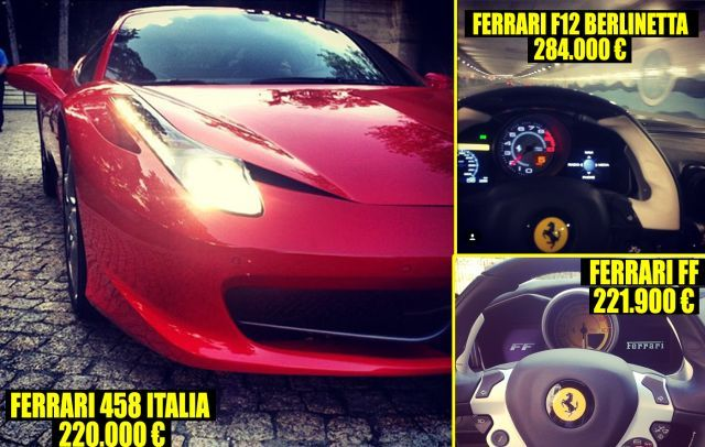 Dani iubeşte maşinile puternice cum ar fi Ferrari