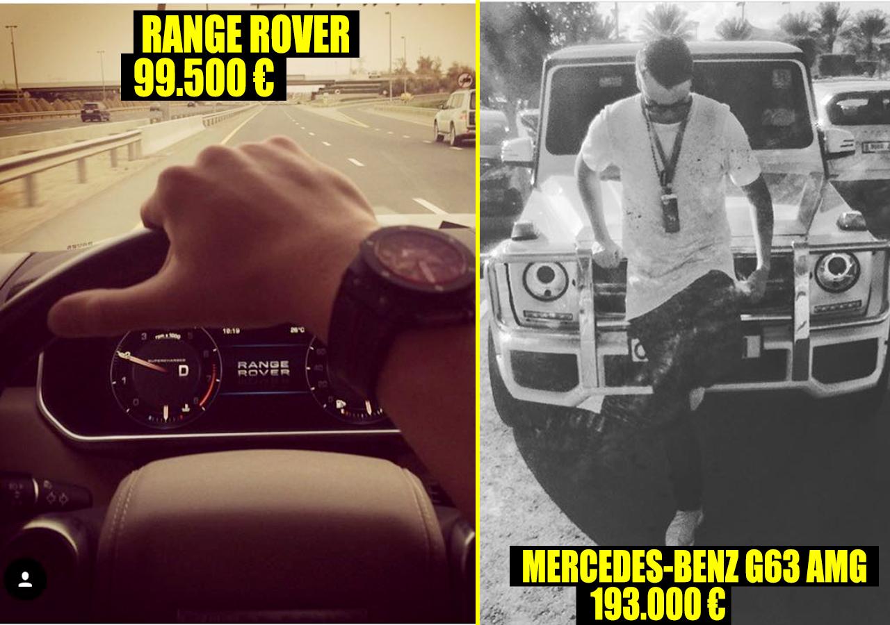 Nici Mercedes-urile nu îi lipsesc din colecţie