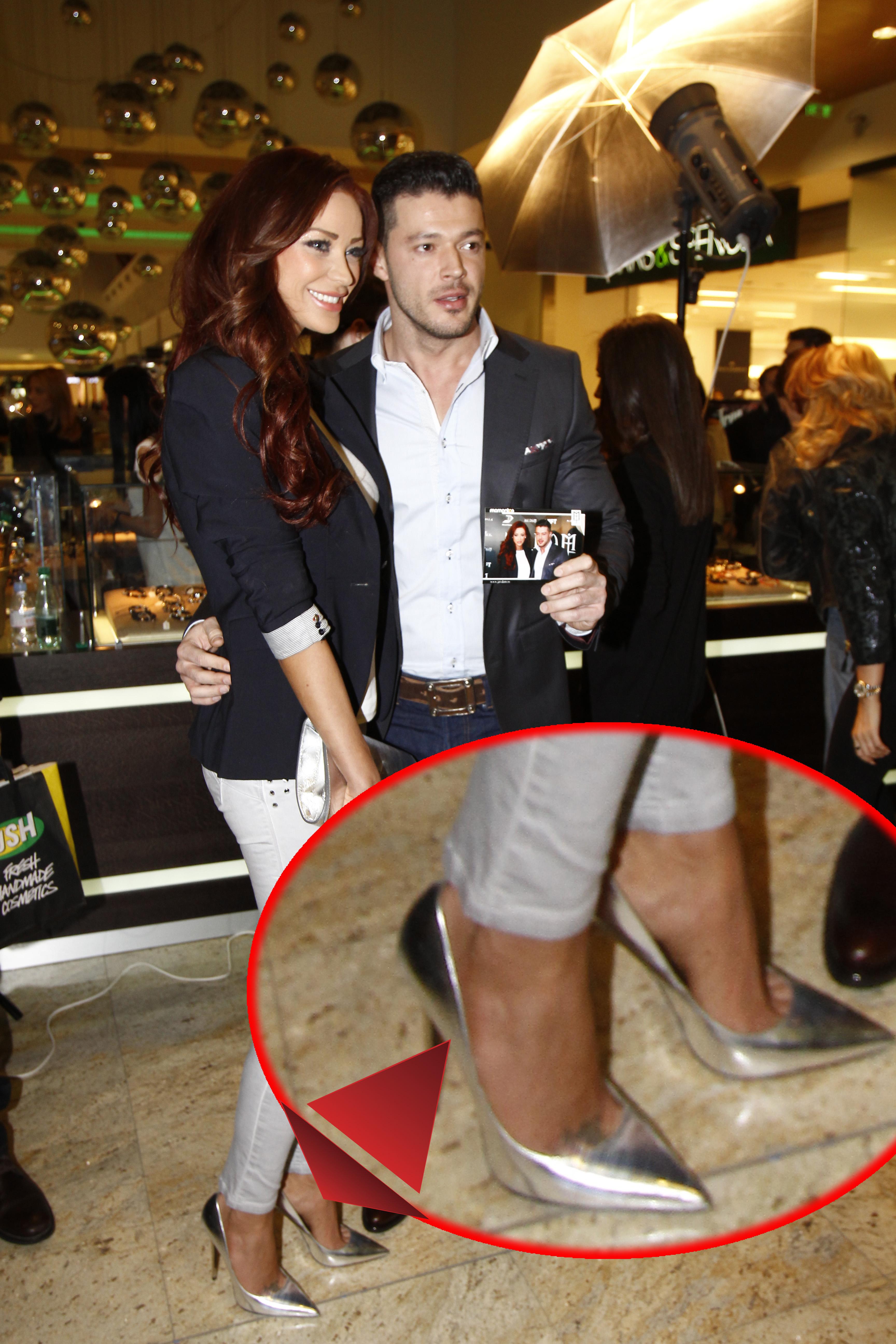 Acum isi permite pantofi de la branduri de lux, genti scumpe si haine de firma