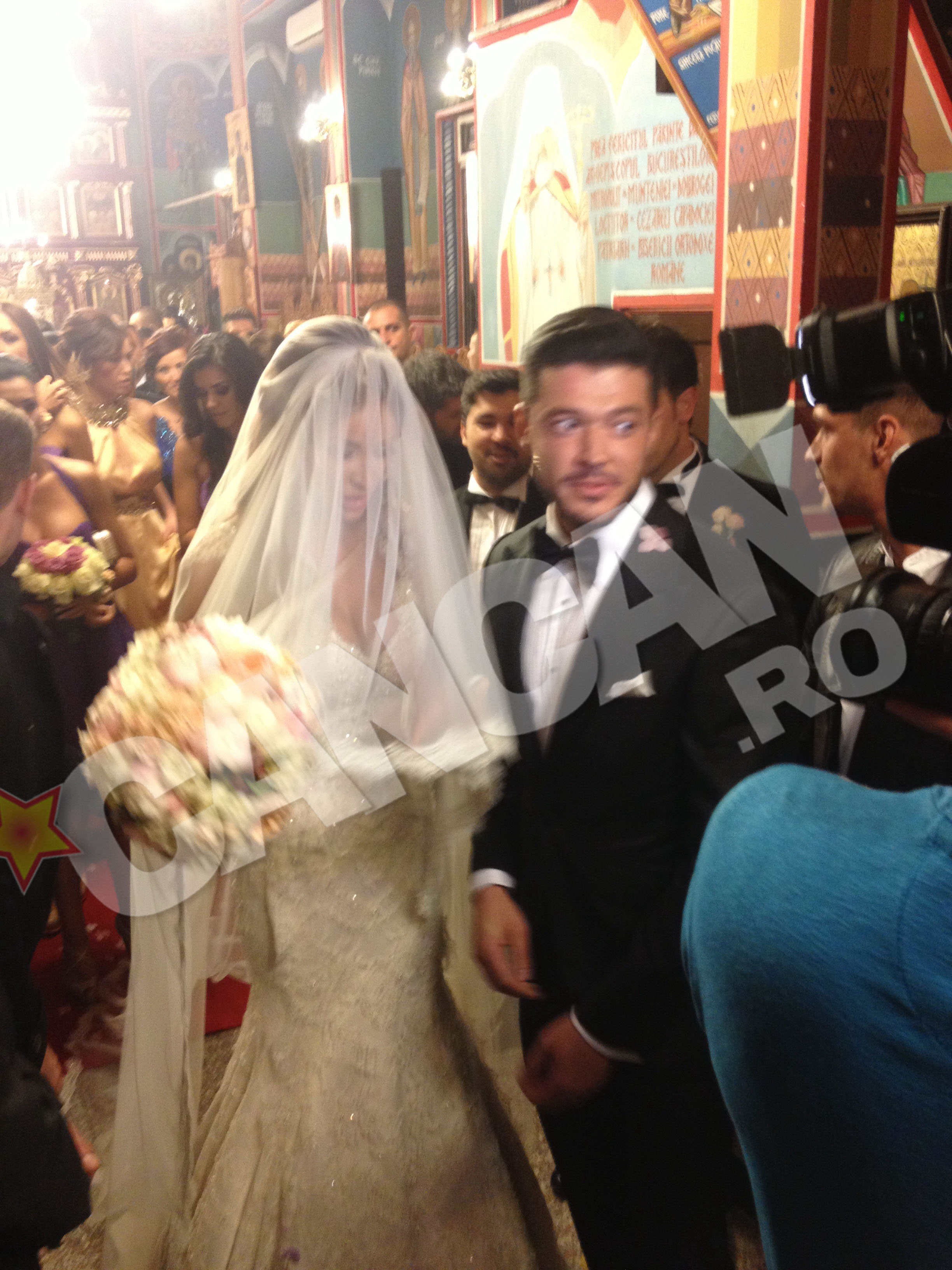 Duminica, Victor Slav a condus-o pe Bianca la altar