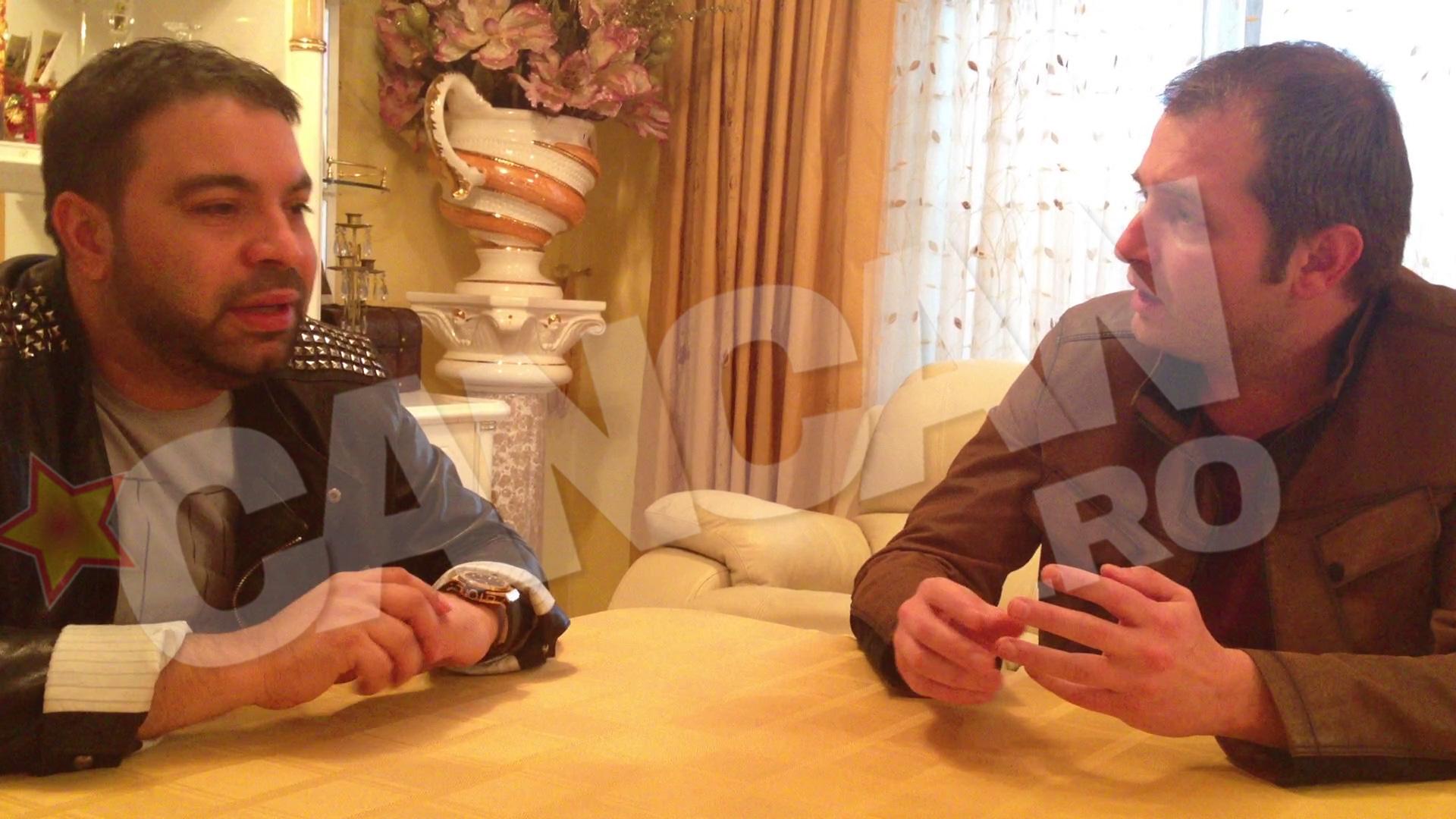 Adrian Artene a fost singurul cu care Florin Salam a vorbit, chiar la el acasa