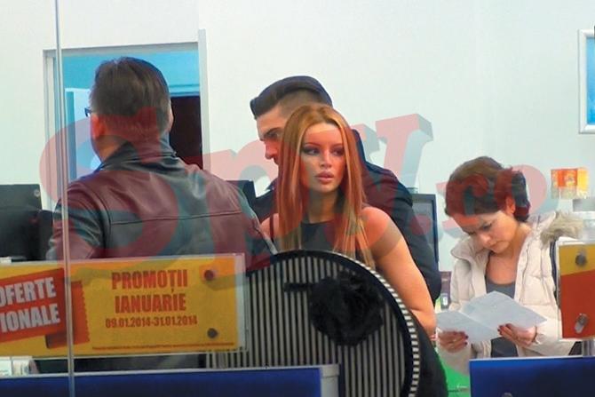 Dorian Popa si iubita