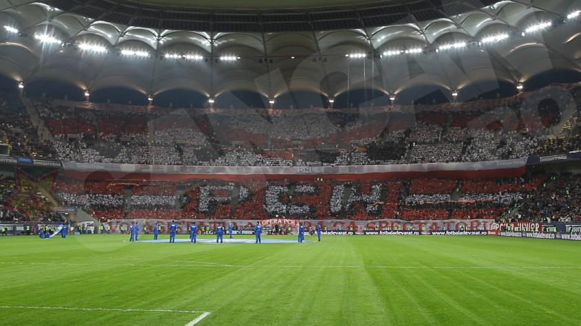 Suporterii lui Dinamo au avut cea mai tare coregrafie