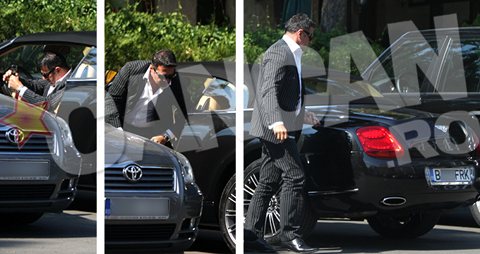 Acesta este Bentley-ul pe care Radu Frincu il detine in garaj si pe care nu l-a declarat niciodata!