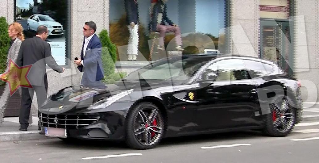 Frincu nu s-a ferit sa se afiseze cu un Ferrari pe care un bugetar obisnuit nu si l-ar putea cumpara nici dupa o viata de munca