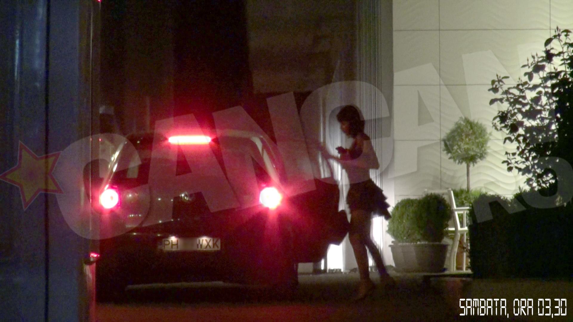 Andra a ajuns la hotel in jurul orei 4