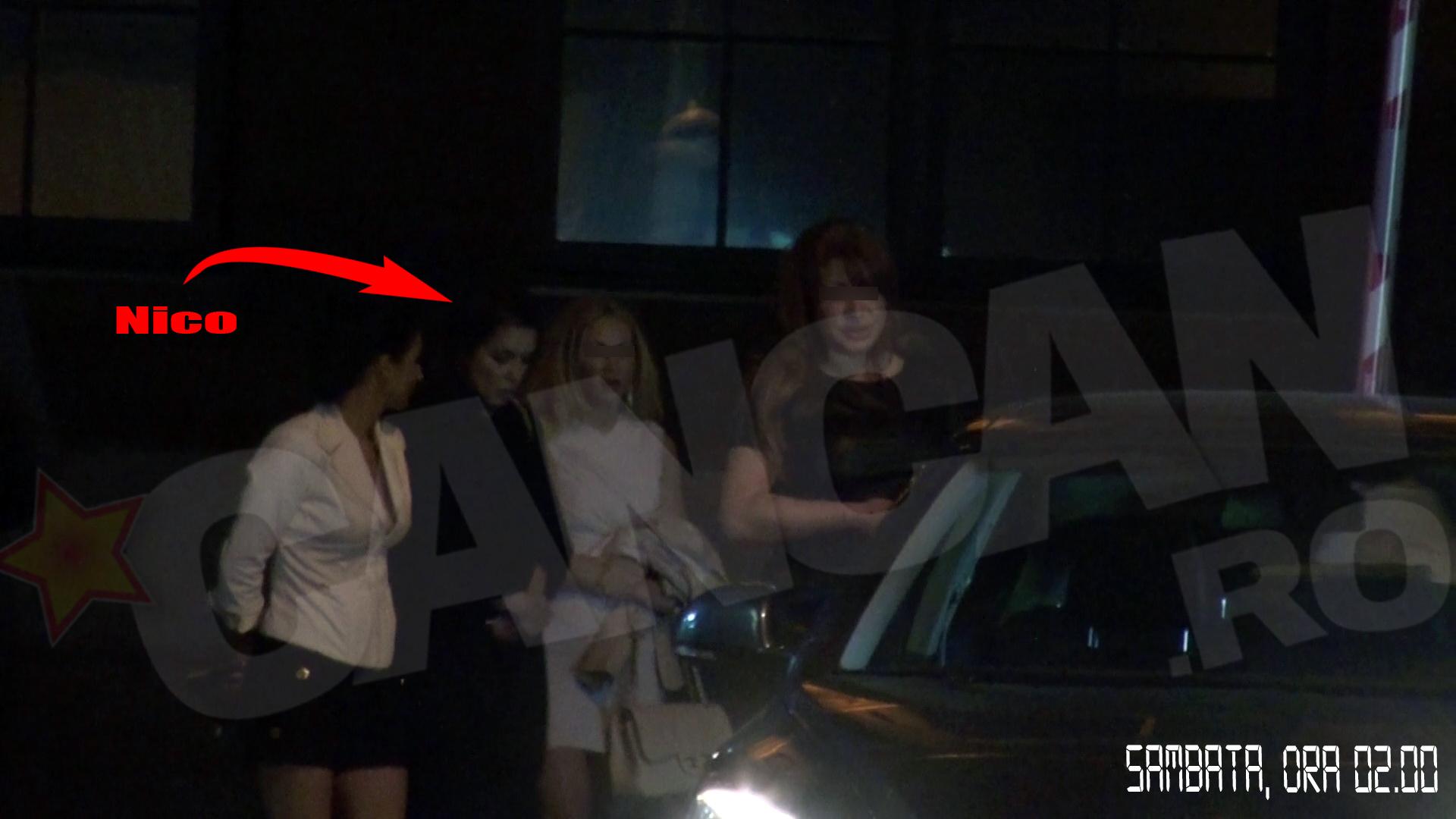 Nico s-a retras spre hotel destul de devreme, in jurul orei 2, impreuna cu cateva prietene