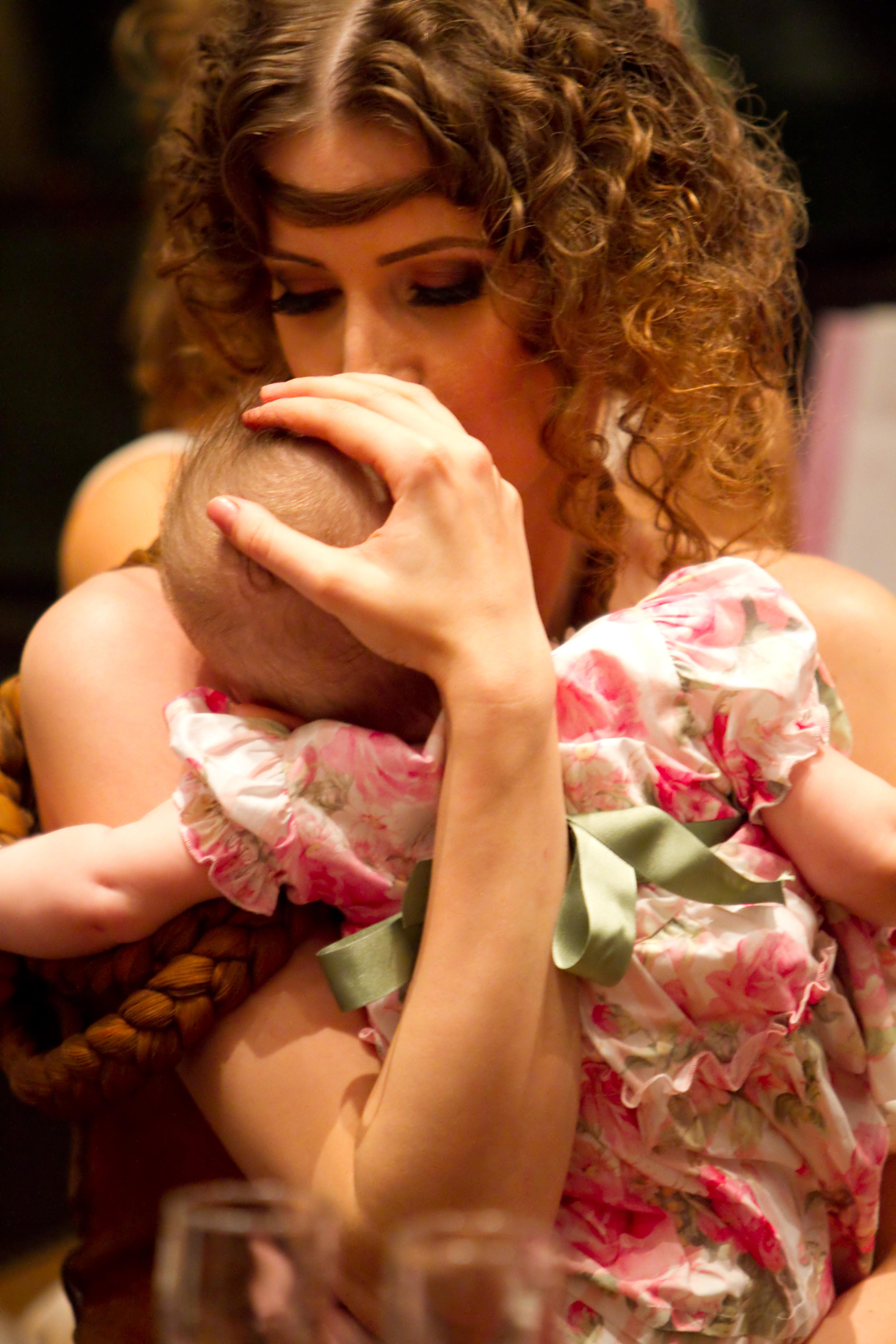 Iulia Albu cu fetita