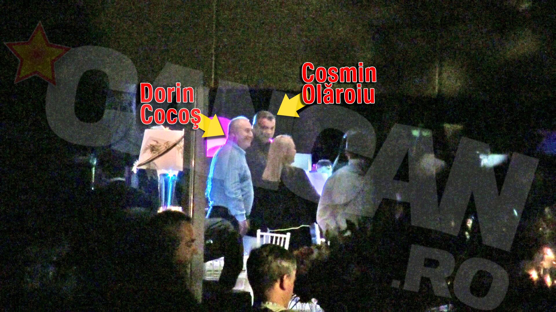 Printre invitatii sarbatoritului s-a numarat si Dorin Cocos