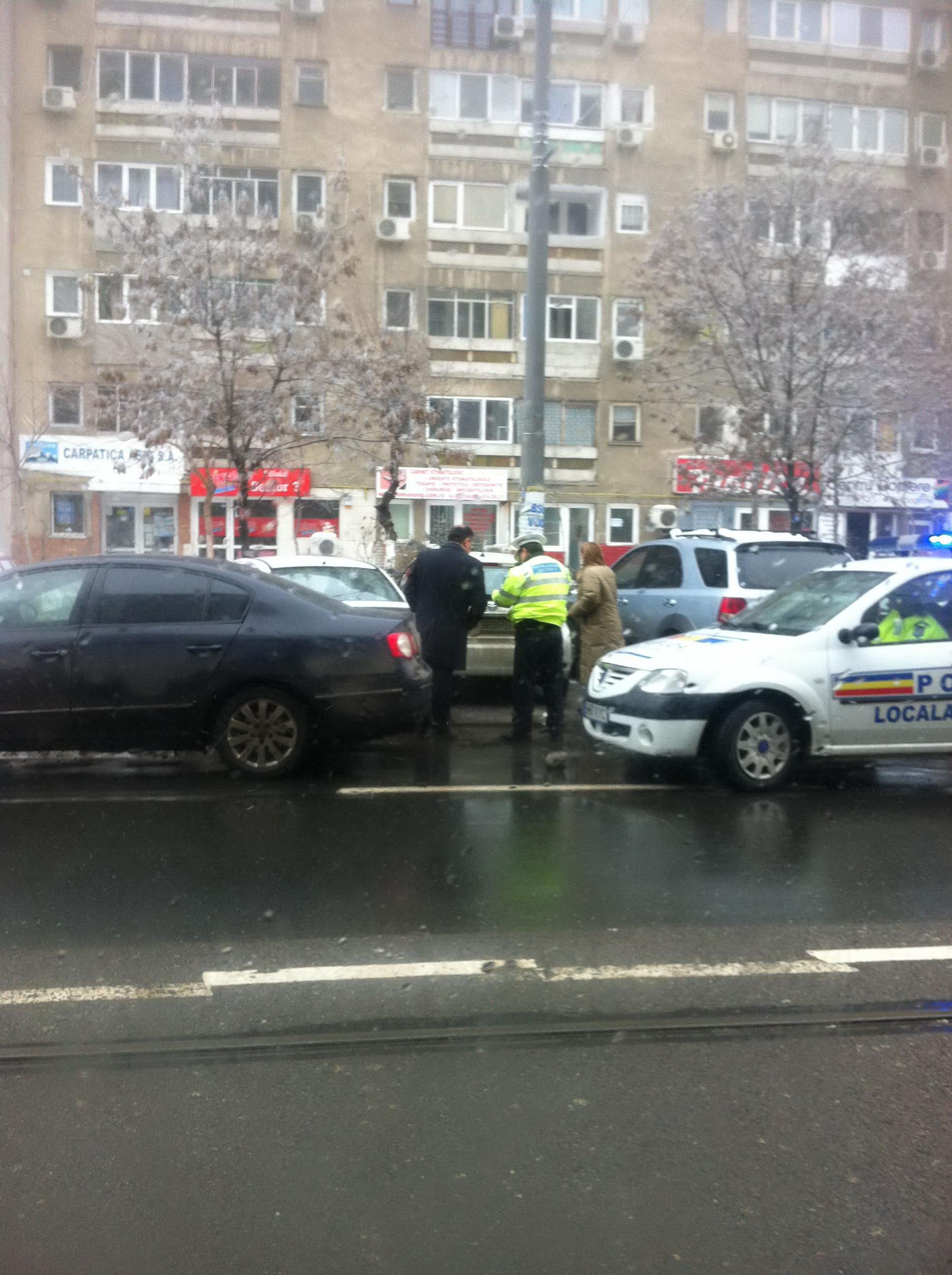 Ionita si-a inceput week-endul cu o intalnire cu Politia