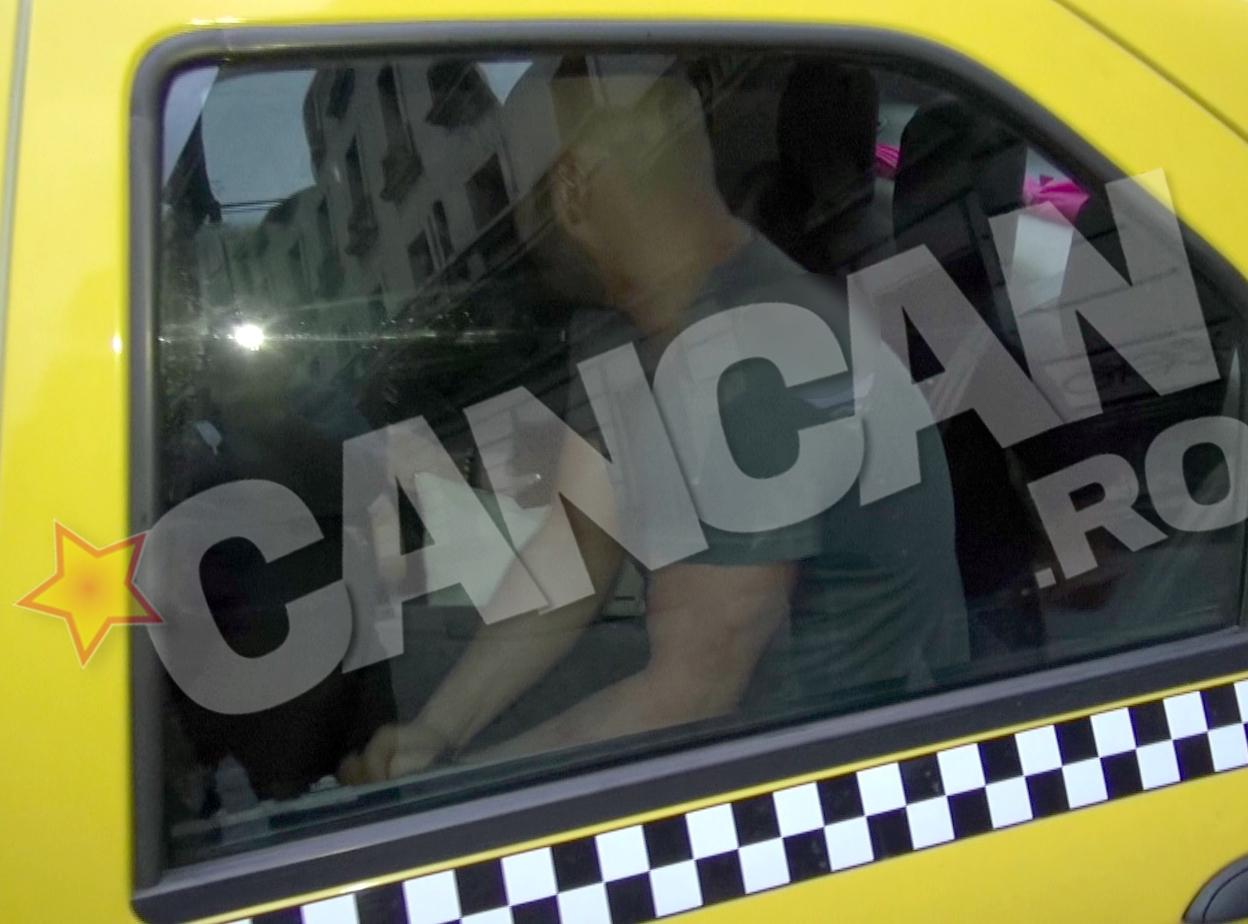 Bendeac si cea de-a doua domnisoara au impartit un taxi