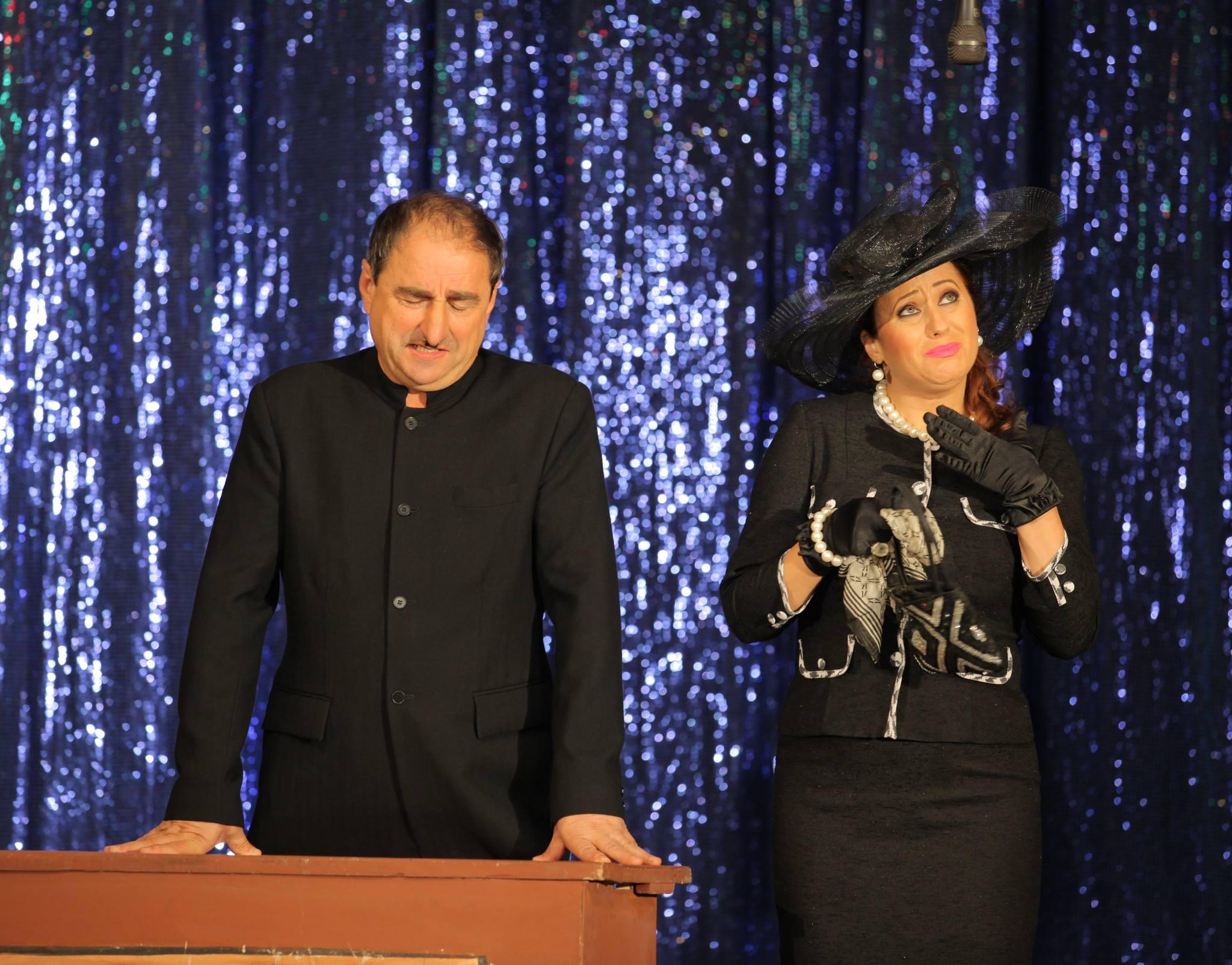 Valentina Fatu este noua partenera de scena a lui Vasile Muraru