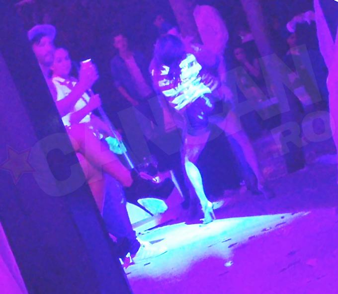 Larisa a impresionat cu miscarie ei de dans si cu posteriorul bombat