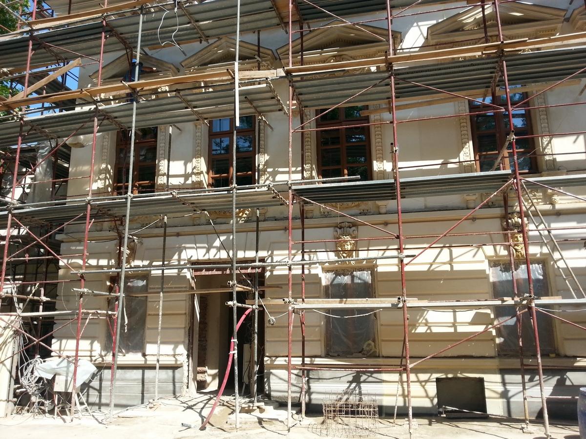 Lucrarile la Casa Cesianu vor fi gata in acest an