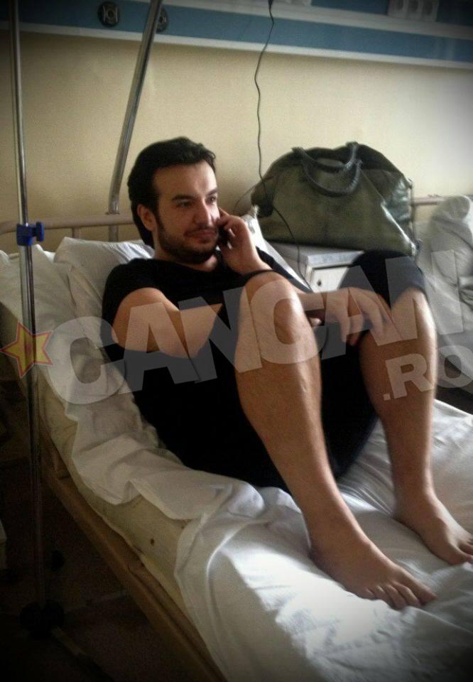 Zece zile, Razvan Ciobanu a fost supus unor investigatii amanuntite, din cauza problemelor cu colecistul