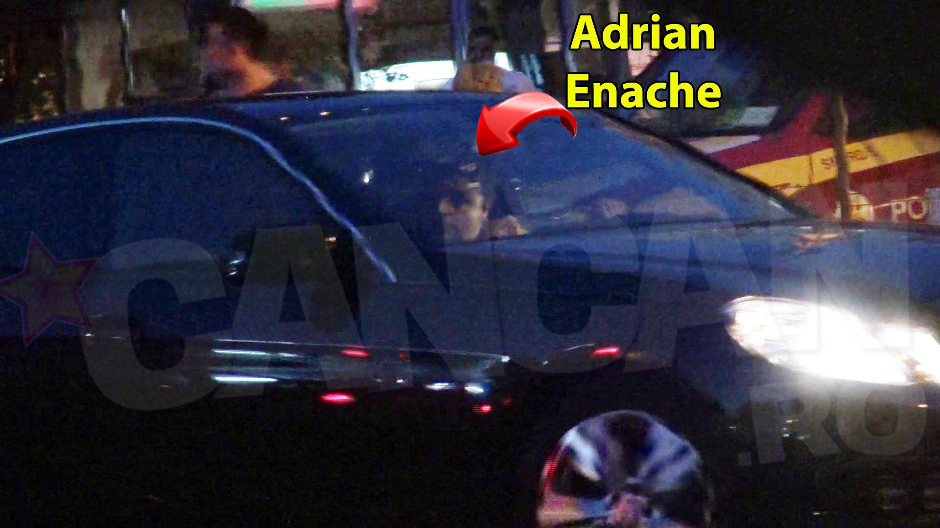 Adrian Enache si sotia lui au plecat de la spital abia inspre miezul noptii