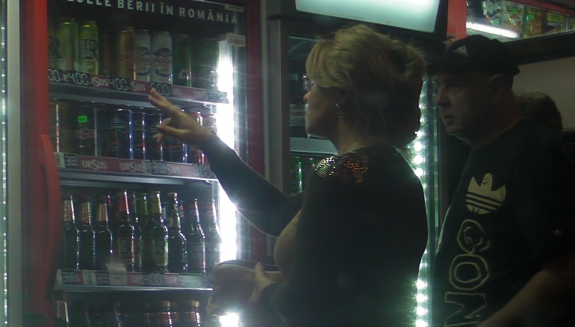Iubita lui Stanculescu a cumparat cateva beri pentru acasa