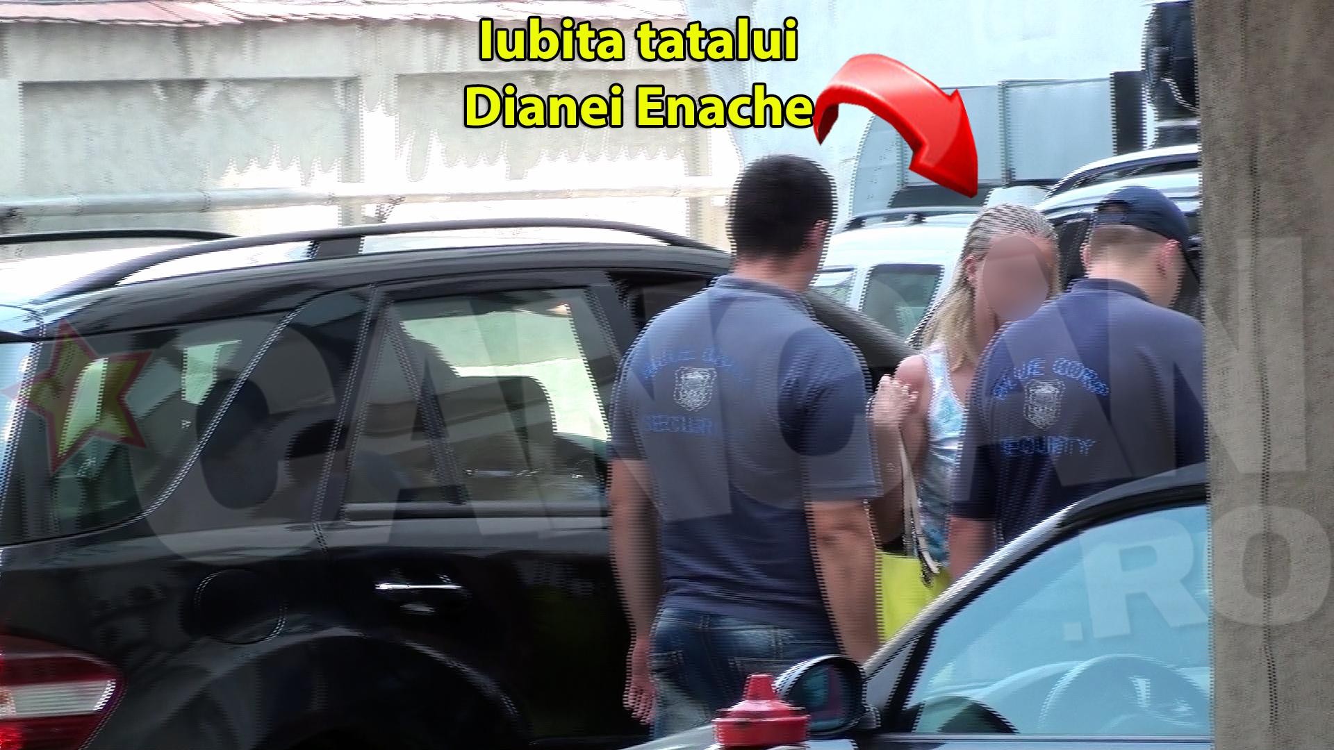 Iubita tatalui Dianei Enache a venit astazi la spitalul unde este internata tanara