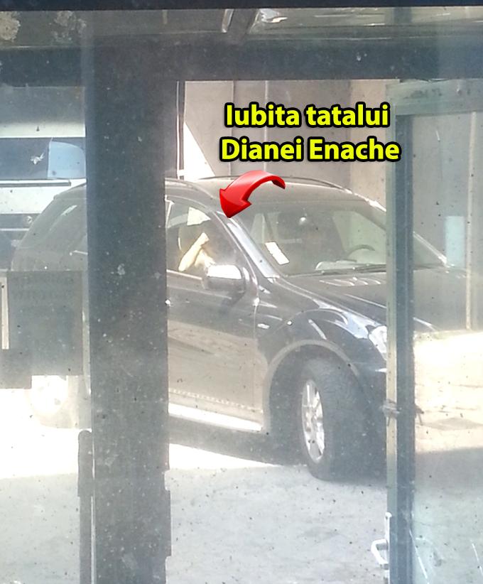 La plecare, iubita tatalui Dianei Enache parea foarte afectata