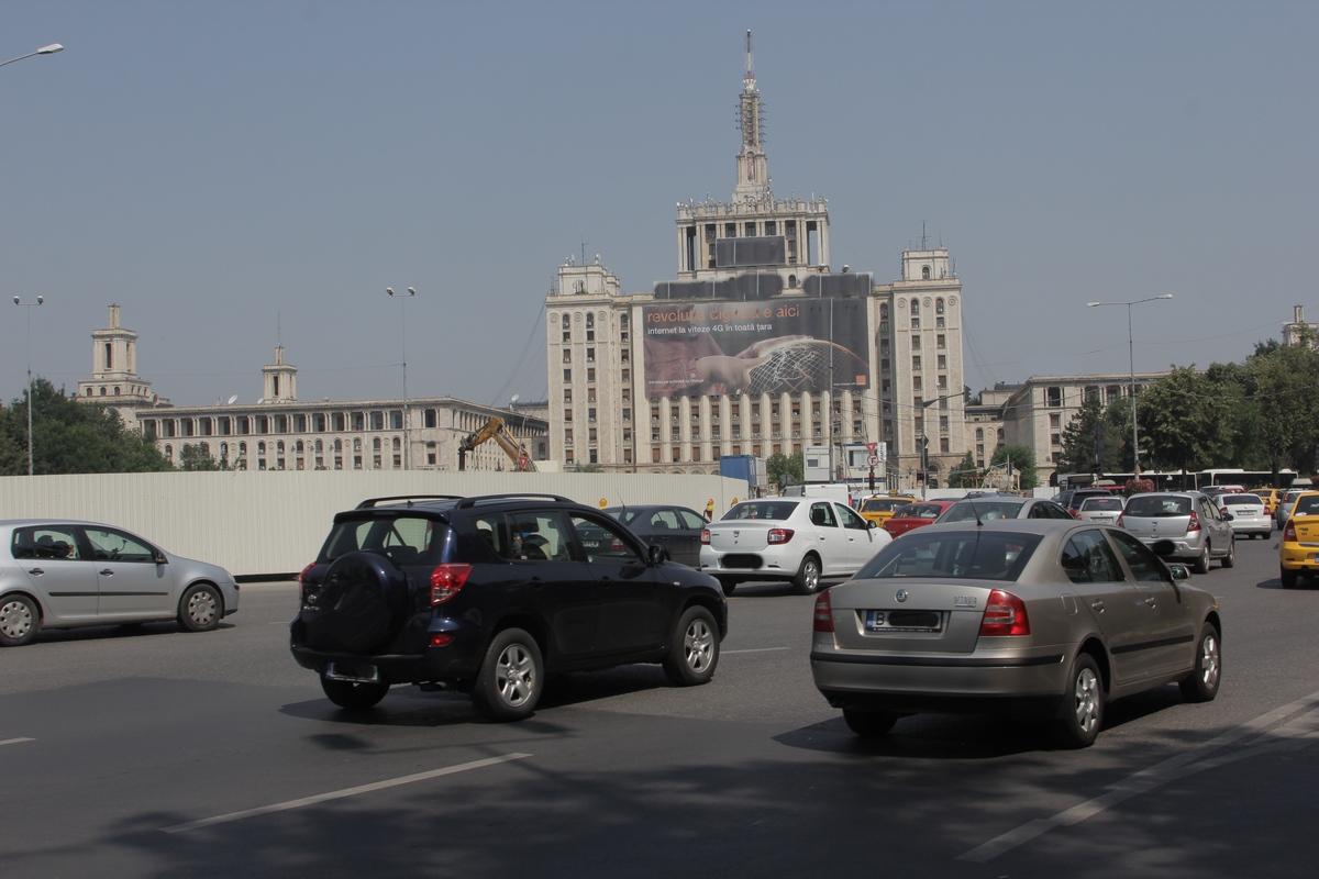 Pasajul va decongestiona traficul de la intrarea in Capitala