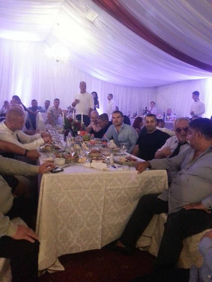 La nunta au participat toti marii interlopi din Romania