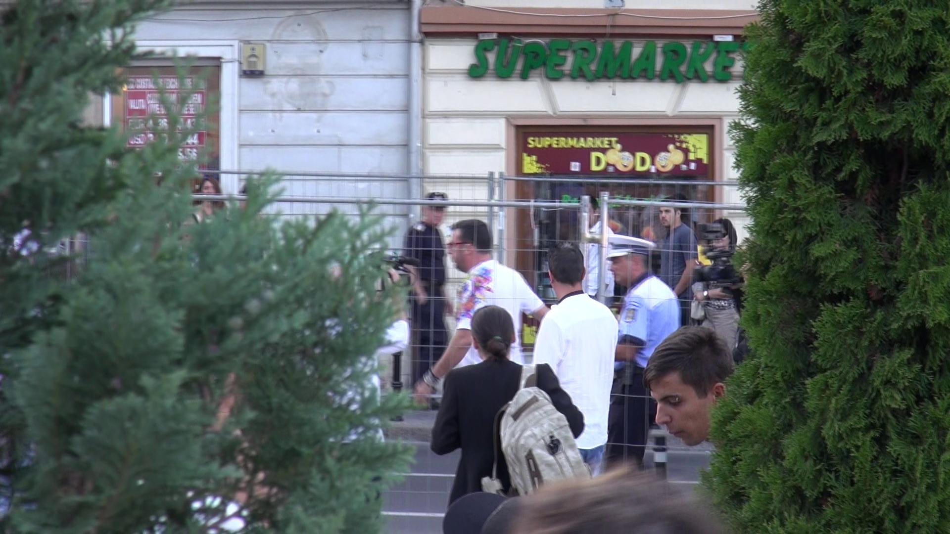 Giovanni a fost bruscat de un politist