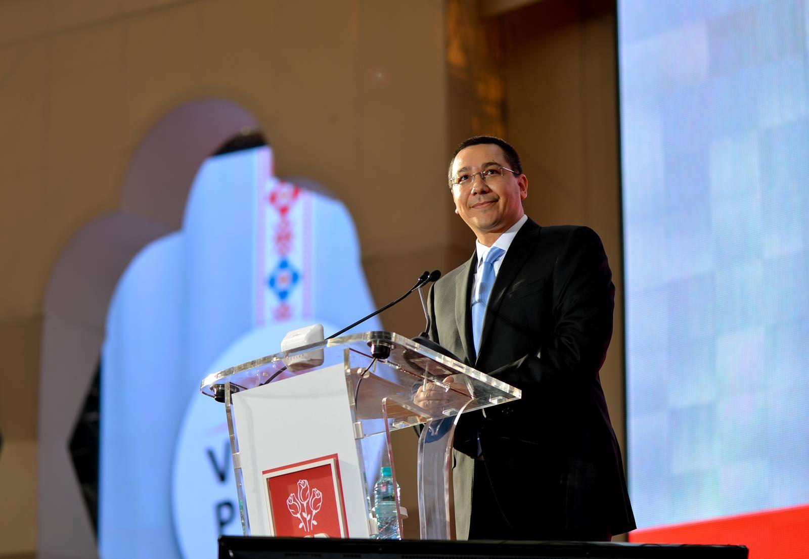 Victor Ponta candideaza la alegerile prezidentiale