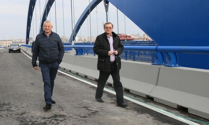 Sorin Oprescu a deschis astazi circulatia pe cel de-al doilea pod de la Pasajul Mihai Bravu