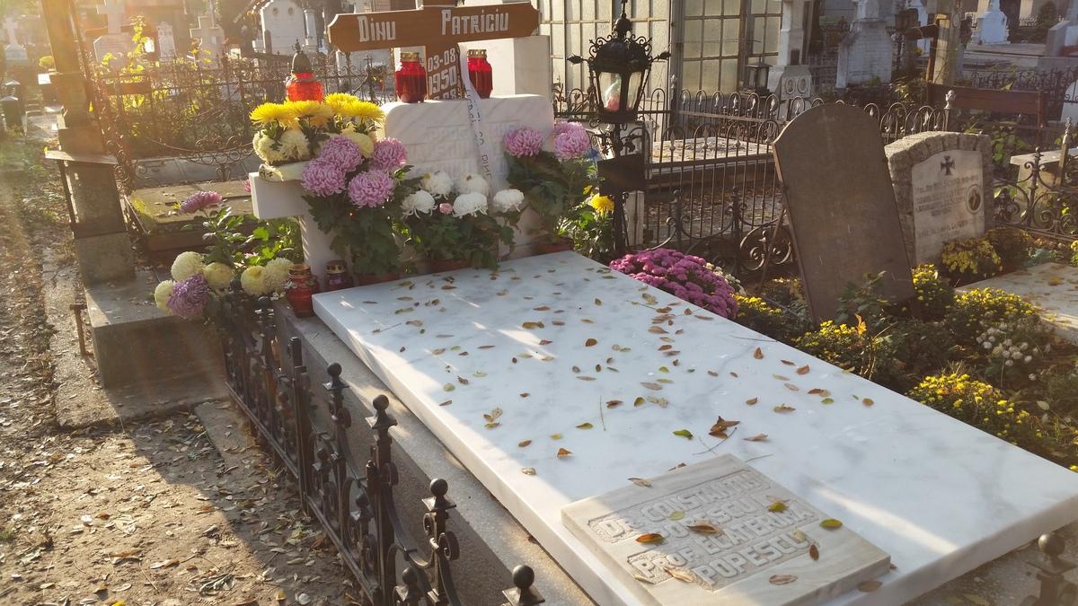 Dana Patriciu venea extrem de des la capataiul fostului sot, dara cum este plecata si nu a mai ajuns la cimitir
