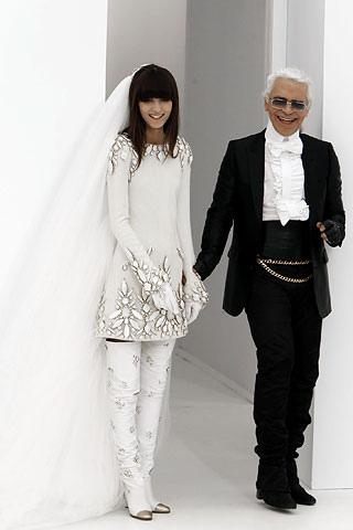 Irina si karl Lagerfeld se cunosc de aproximativ 15 ani