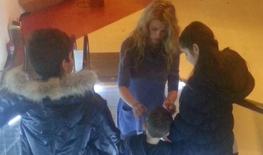Alina Borcea este mama cu norma intreaga si pentru gemenii Mihaelei
