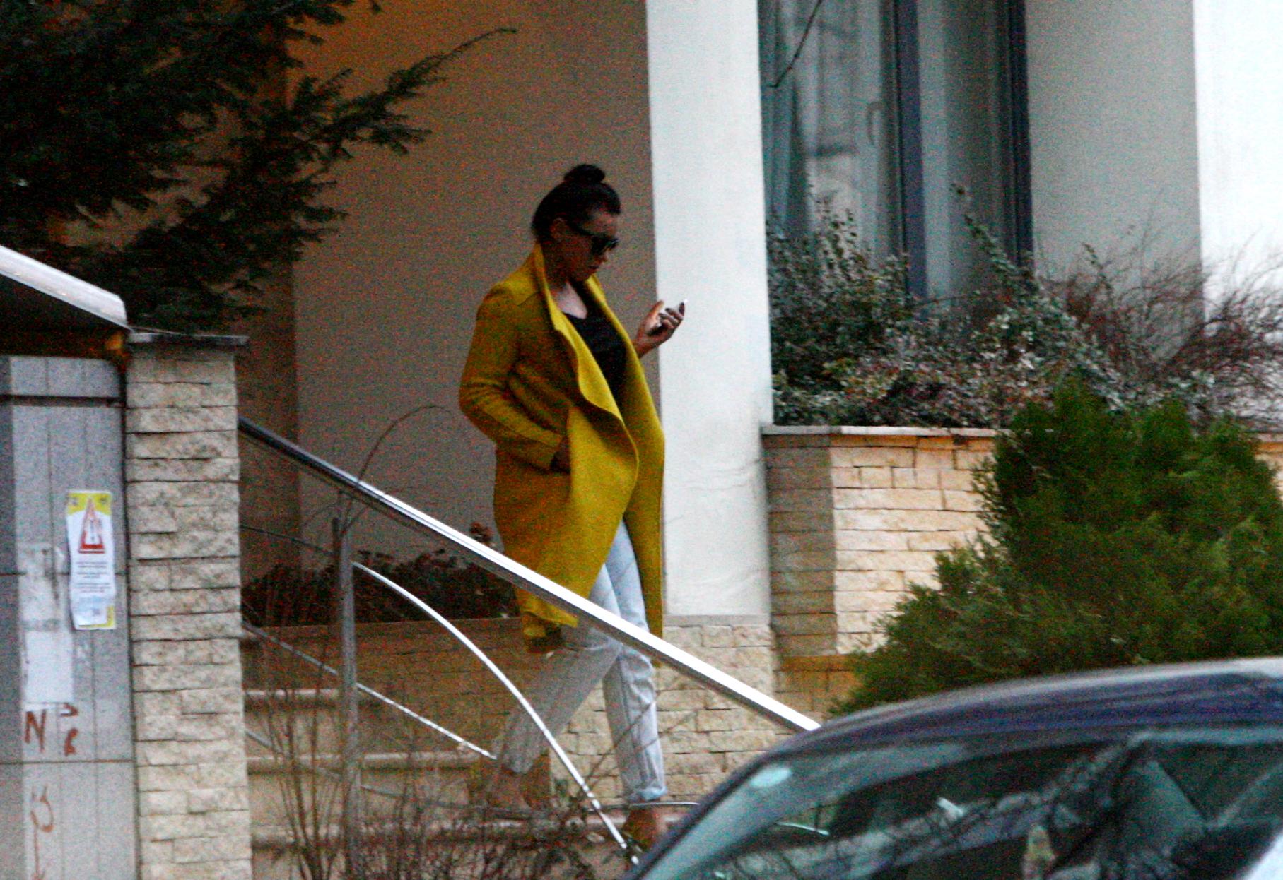 Renata a plecat din apartamentul lui Nicola la lasarea serii