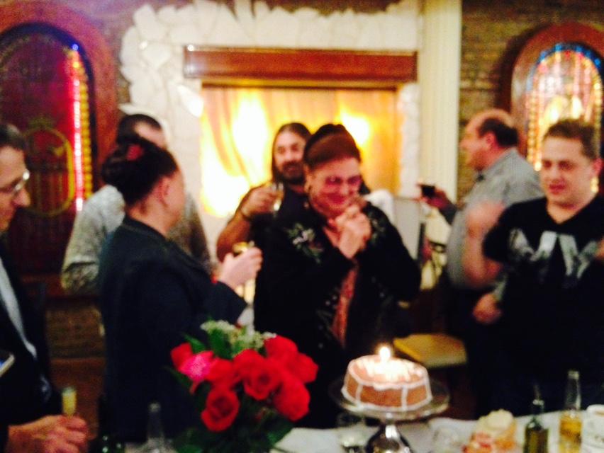 Petrecerea a avut loc la un restaurant cu specific romanesc din Chicago