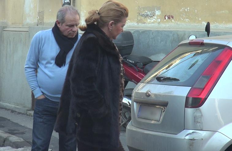 Maria Carneci si sotul ei au analizat paguba produsa