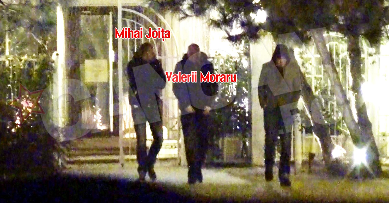 La scurt timp, Moraru si Joita au iesit din restaurant