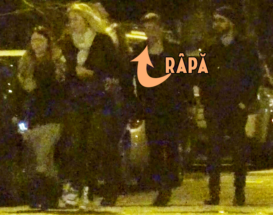 Rapa, Tanase si Parvulescu si-au scos iubitele in oras