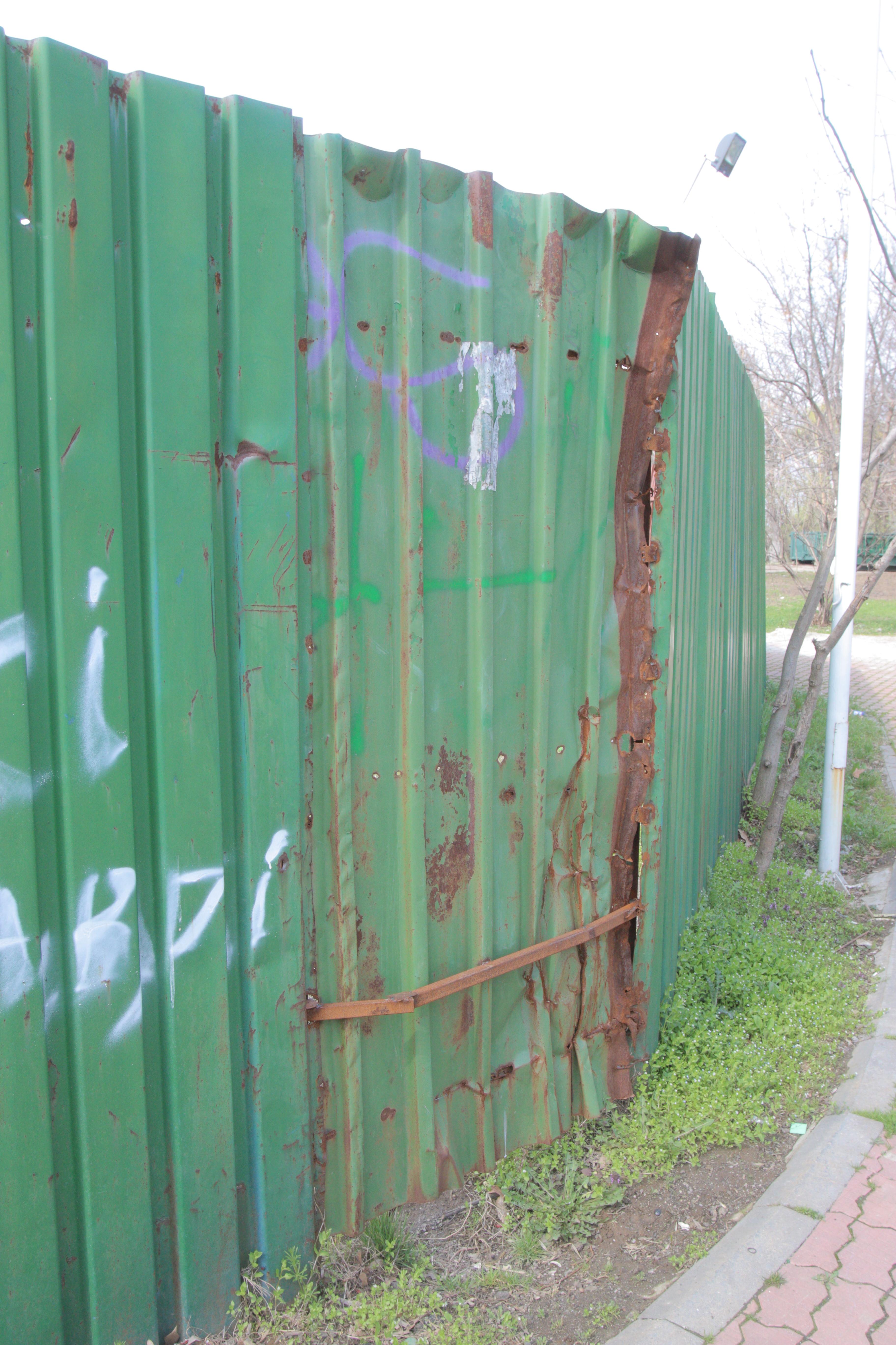 Gardul a fost refacut integral dupa tragedia din toamna anului 2013