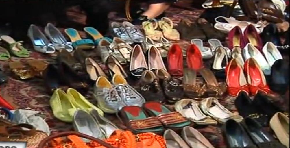 Marioara Zavoranu se lauda cu 400 de perechi de pantofi