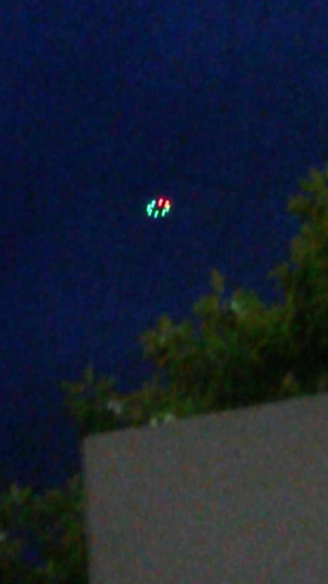 Obiectul s-a aflat la o inaltime de aproximativ 100 de metri