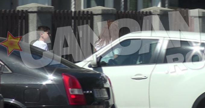 Alina Chivulescu a mers la politie cu fiul ei, Michael