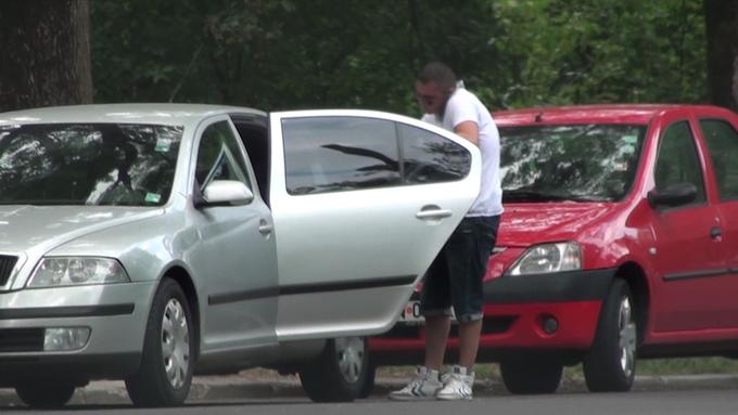 Sabin Ilie a luat masina sotiei si a mers sa-si rezolve problemele