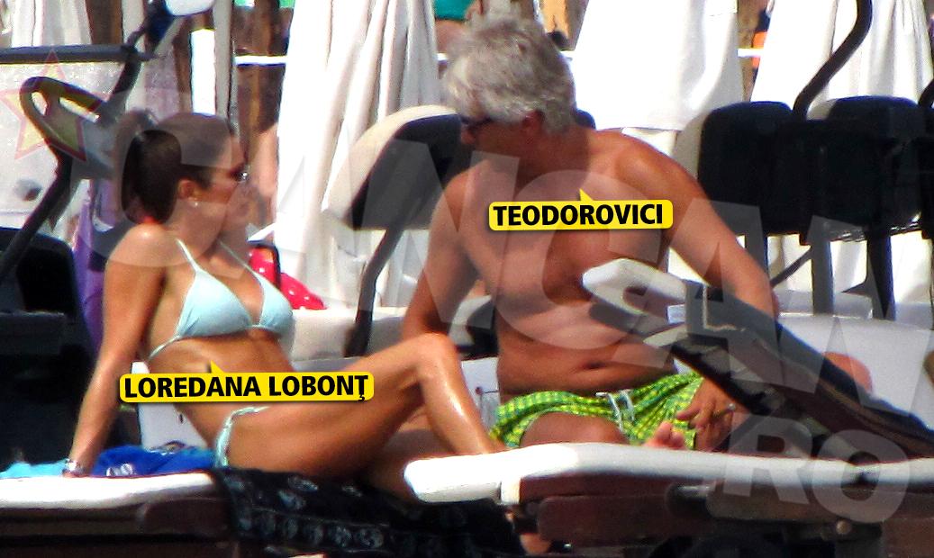 Ministrul de Finante si fosta nevasta a lui Lobont au savurat momente romantice pe sezlong