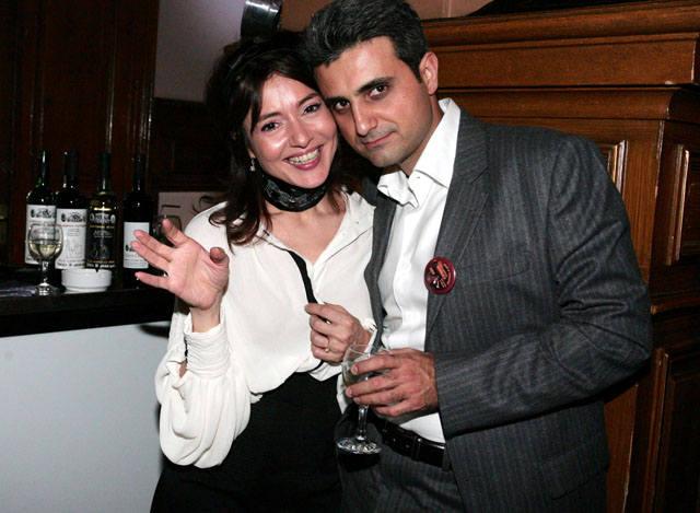 Oana Sarbu si Robert Turcescu au fost impreuna
