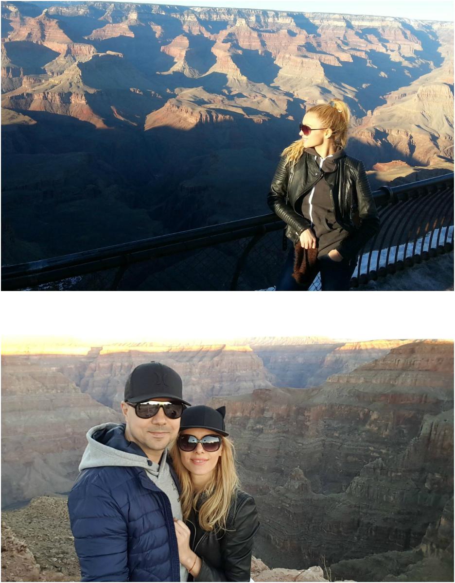 În 2013, Lora îl însoţea pe Dan Badea în America (foto sus). Acum, actorul repetă momentele cu Mădălina Drăghia (foto jos)