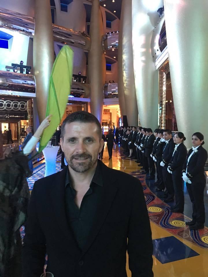 Chavdar Alexandrov a petrecut noaptea dintre ani într-o locaţie de lux din Dubai